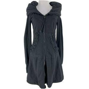 Prairie Underground Long Cloak Hoodie Jacket XS